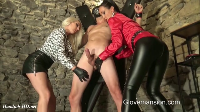 Watch Free Porno Online – Ruined and Milked By Our Leather Gloves – GloveMansion (MP4, HD, 1280×720)