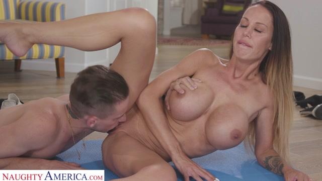 Watch Online Porn – NaughtyAmerica – MyFriendsHot presents McKenzie Lee – Mckenzie Lee Works Up A Sweat Before Fucking Son's Friend – 17.08.2020 (MP4, HD, 1280×720)