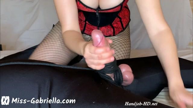Watch Online Porn – Painful Handjob From His Femdom Mistress – Miss Gabriella (MP4, FullHD, 1920×1080)