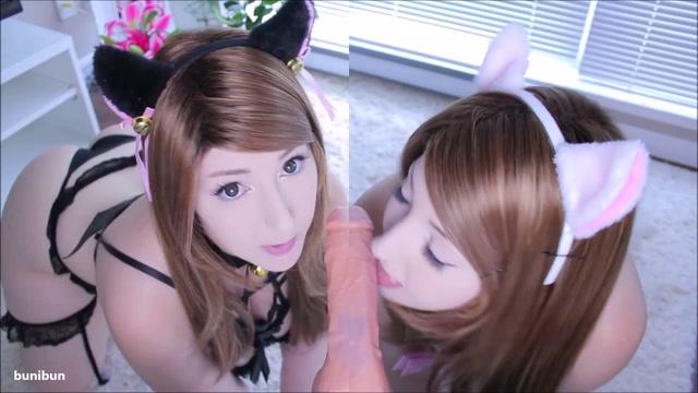 Watch Online Porn – BuniBun in Two Kitten Sluts Drain You (MP4, FullHD, 1920×1080)