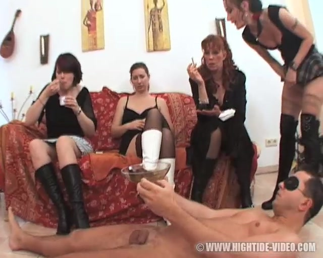 Watch Online Porn – Praying Mantis – Princess Michelle, Lady Katherina, Marie, Angie – Boot Squad (MP4, SD, 720×576)
