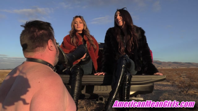Watch Online Porn – American Mean Girls – Lexi Chase, Princess Skylar – Boot Worship for Your Life (MP4, FullHD, 1920×1080)