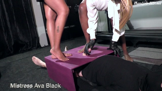 Extracting our cum tribute - Mistress Ava Black, Mistress MD.mp4.00002
