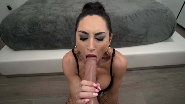 Reya Sunshine - Covered in Cum - Huge Cock Sloppy BJ 4k.00007
