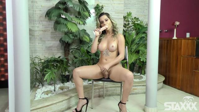 Tranny Candy presents Nathalia De Castro Trans babe bangs herself 00004