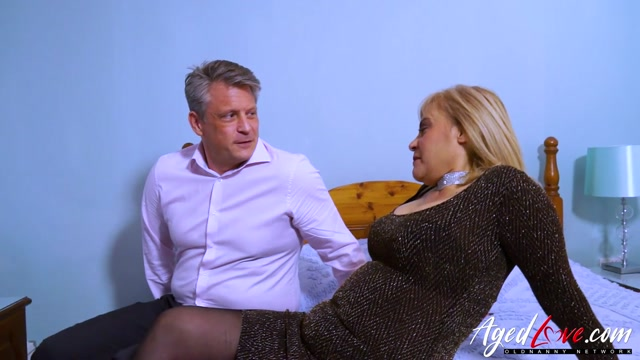 AgedLove presents Ruby Stone - Sexy Latin Lady With Intimate Piercing Fucks British Guy – 15.05.2021 00000