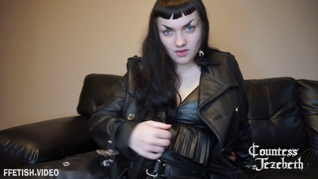 Countess Jezebeth - Leather Cock Worship 00009