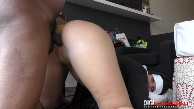 DigiCreatonsXXX Silvia Burton - Nuns Needs Cock Too 00009