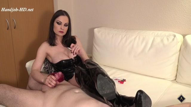 Erotic Smoking - Handjob and Teasing - Abbie Cat 00006