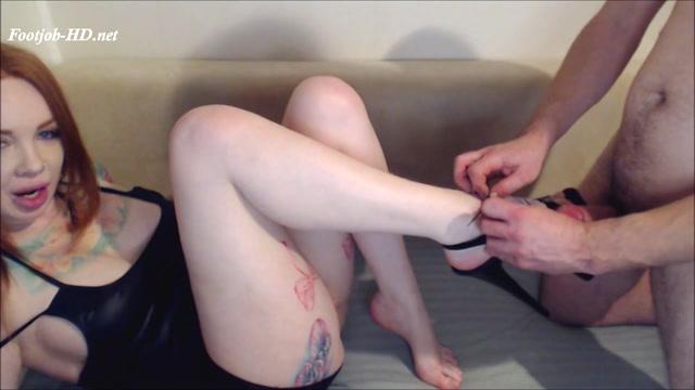First Video B G Heels, Gag, Cum On legs - FoxyGoddess 00005