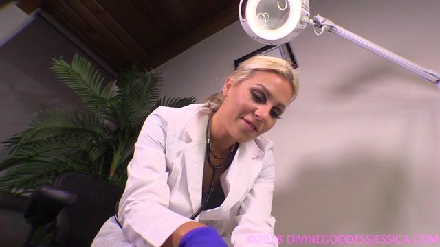 Goddess Jessica - Dr. Jessica, Slave Urologist 00007