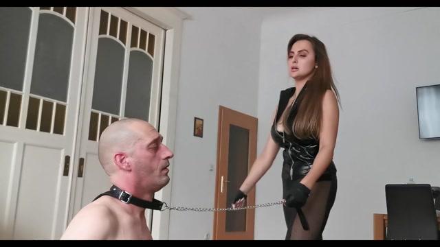 Goddess Lena - Kicking and slapping 00010
