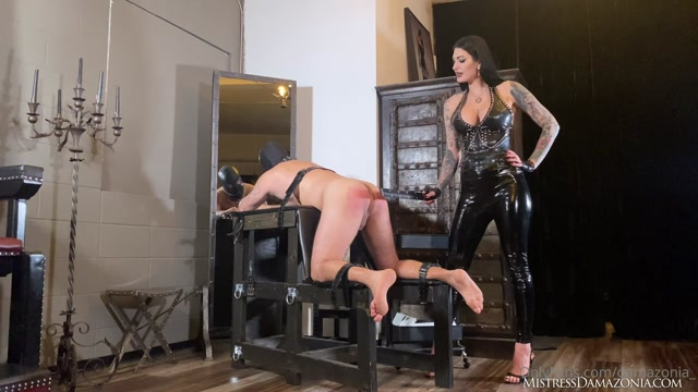 His First Anal Experience – MISTRESS DAMAZONIA 00003