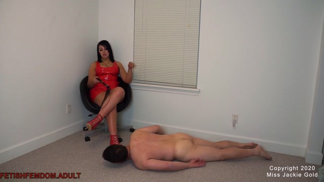 Miss Jackie Gold - Foot Slave Training 00008