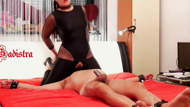 Mistress Sadistra - Cock Cage Heaven and Hell 00007