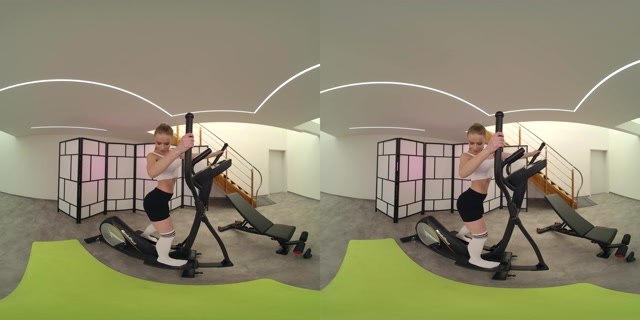 Realjamvr presents Flexible Anal in the Gym - Alexa Flexy 4K 00000