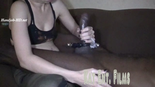 Trying out Vibrating Cock rings HandJob - Seductive Kat 00009
