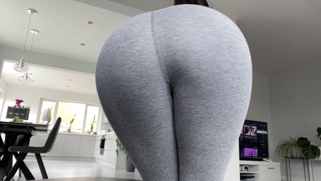 asianfantasyy91 - Sweaty Yoga Pants Ass Worship 00006