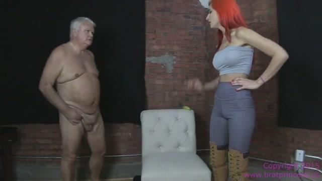 Brat Princess 2 - Amadahy Humiliates and Dominates her Old Slave 00001