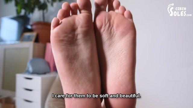 Czech Soles – Dita – Foot fetish youtuber online streaming her footboy in secret 00007