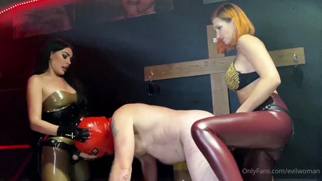 Evil Woman - Slave was super horny after whole 2 days of filming wit 00006