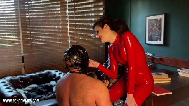 FetishChateauStudio - Double domme spitting and faceslapping - Face Slapping 00008