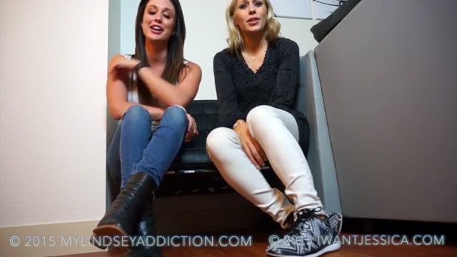 Goddess Jessica - Tricked By Sock Job Offer ft. Lindsey Leigh 00002