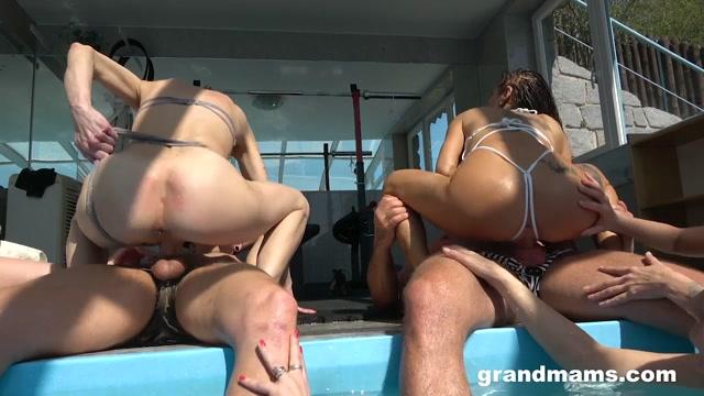 GrandMams presents Ali Bordeaux, Belinda Bee, Valentina Sierra - Granny Pool Orgy – 16.06.2021 00005