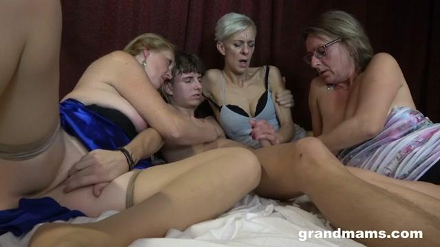 GrandMams presents Belinda Bee & Ginger Mi & Koko - Horny Cougars On The Prowl For Young Cock – 02.06.2021 00015