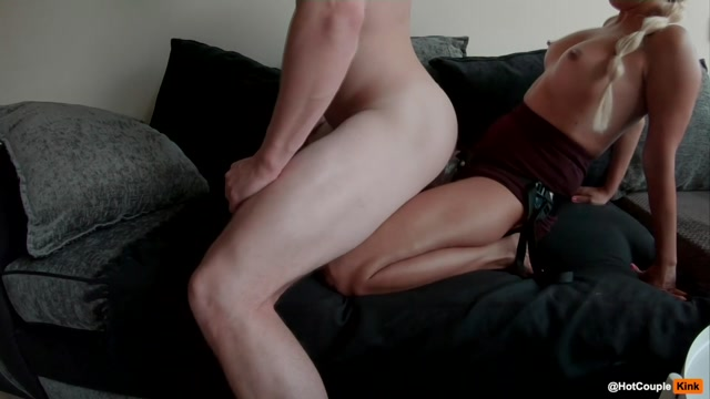 Hot Kinky Couple take Turns Fucking each other - Strap-On 00005