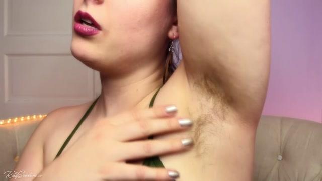 Kelly Sunshine - Hairy Armpits Mesmerize 00007