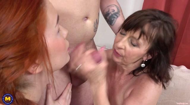 Mature.nl presents Danny (66), Keira Love (25) - He