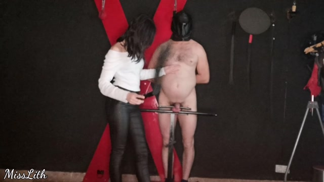 Miss Lith Domina - New CBT Furniture - Ball Abuse 00006