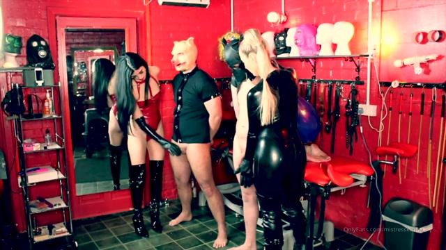 Watch Online Porn – Mistress Karina, Mistress Lavinia – Pathetic cocks need Punishment (MP4, HD, 1280×720)