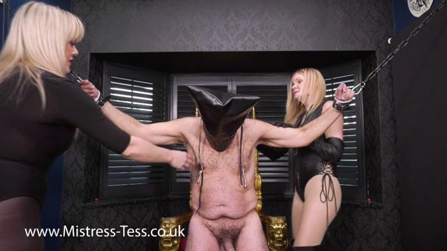 Mistress Tess - Mistress Paris - Interrogation - Ball Abuse 00012