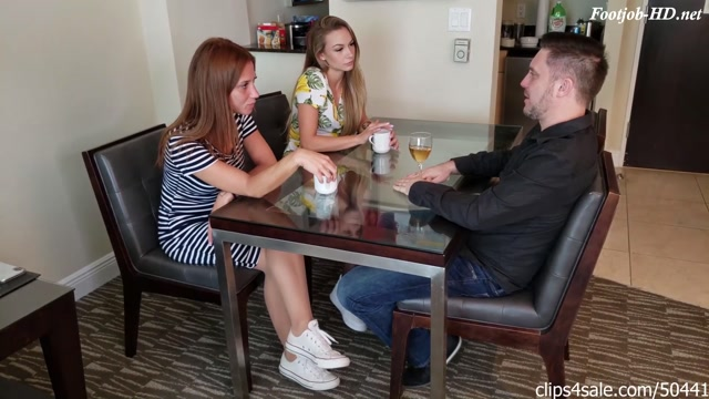 Naomi And Ginger Foreign Exchange Student Make Step Dad Cum In Pants 00001