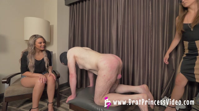 Nika and Sadie - Beta sees Chastity Coach for Inspection and Correction  4K  00015