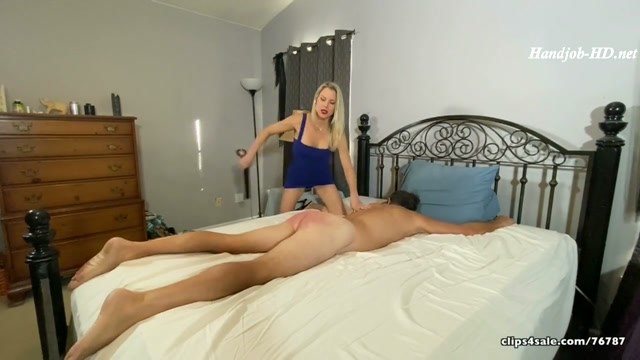 Perverted Step-Mommy - Hand Job, Face Sitting _ The Belt - Mistress Aleana