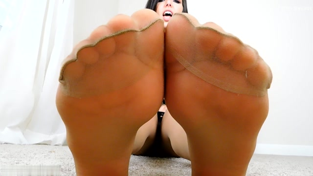 Stella Von Savage - Bratty Pantyhosed Feet Edging JOI and CEI 00005