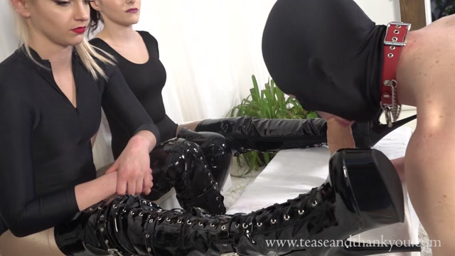 Tease and Thank You - Mandy Marx - Cock N Boot Obsessed Bitch 00014