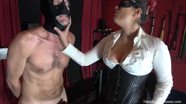 Temple of Dommes - The Day Will End With You Locked Up - Ball Abuse 00004