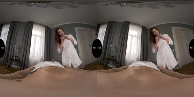 VREdging presents Milked By Hot Masseuse Emily - Emily Mayers 4K 00000