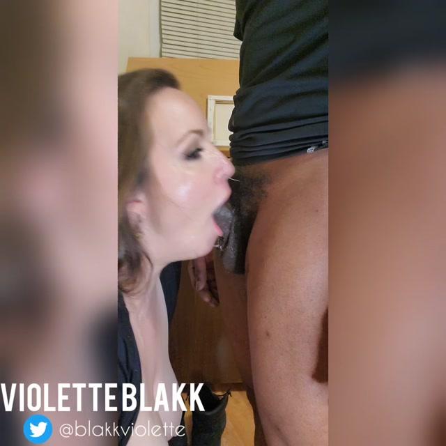 VioletteBlakk - Pretty PAWG Deepthroat Facefucked by BBC 00004