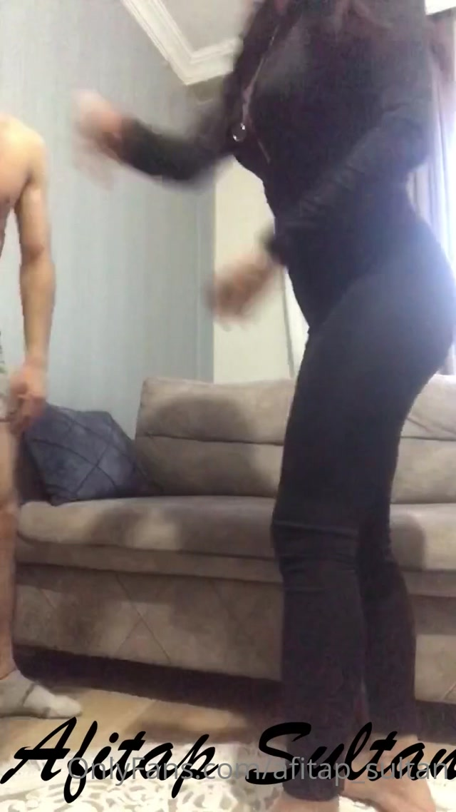 AFITAP SULTAN – BRUTAL BEATDOWN AND BALLBUSTING TO WIN A BET (ENGLISH SUBTITLES VERSION) 00001