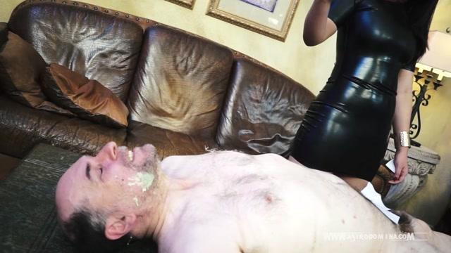 AstroDomina - Body Waxing My Slave - Hot Wax 00006