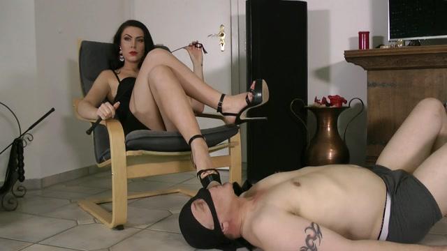 Boot Heel Worship CBT Humiliation - At Mistress Service - Lady Katharina 00015