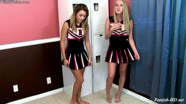 Watch Free Porno Online – Brat Cheerleaders Cadence _ Marina Dominate the Coach – Primal's FOOTJOBS (MP4, HD, 1280×720)