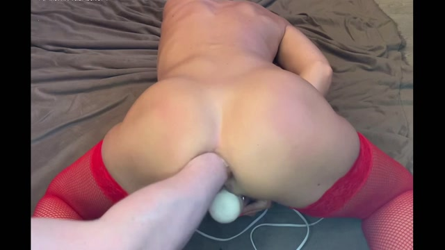 CrazyWifeSlut CWS ruined her asshole by fist and dildo 00012