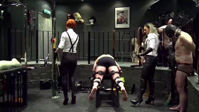 Devilish Domination - Seeing Double, Caning Punishment - Bondage 00010