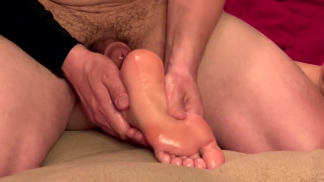 FootJob - FornicationFreeway - Hard Foot Fuck and Close up Cumshot on Soles after Long O 00002